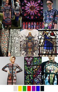 #ranitasobanska #fashion #inspirations STAINED GLASS