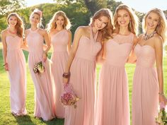 A subtle statement with just enough punch; our rose bridesmaids dresses can't be beat. As the saying goes…happy wife, happy life.  We say…happy bridesmaids, happy bride!  Shop the Camille La Vie bridesmaid collection to give your girls some chic choices for a cool, confident, and totally gorgeous bridal party.  Happy wedding day! #camillelavie