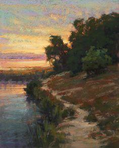 Bayland Glow by Kim Lordier Pastel