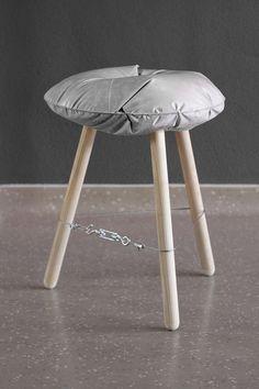 Concrete Stool / Casting Experiment by Michal Marko, via Behance