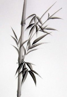japanese bamboo painting