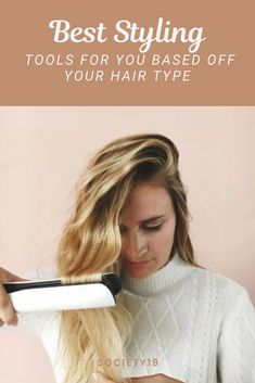 Best Styling Tools For You Based Off Your Hair Type New Hair Trends, Styling Tools, Hair Tools, About Hair, Hair Type, Locks, Natural Hair Styles, Eyes, Stylish