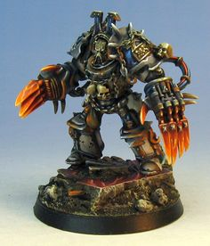 World Eater Terminator pre-Heresy colors  I really don't know what this is, but I thought it looked really cool