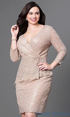 Shop short plus-size dresses and short dresses in plus sizes at PromGirl. Plus-size homecoming dresses, cocktail party plus dresses, and short plus-size dresses for prom. Plus Size Formal Dresses, Evening Dresses Plus Size, Plus Size Dresses, Evening Gowns, Casual Dresses, Short Dresses, Fashion Dresses, Trendy Dresses, Prom Dresses 2015