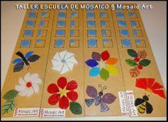 Tableros de cortes en mosaico veneciano (venecitas)