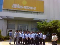 Dainik Bhaskar Industrial Visit from Prime Vision Automation Solution