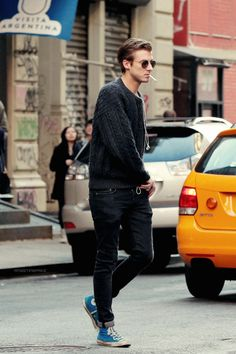 24 comfy fall converse outfits for men - styleoholic Casual Street Style, Look Street Style, Street Styles, Men Street, Street Wear, Style Masculin, Outfits Hombre, Look Man, La Mode Masculine