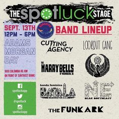 Announcing the #SpotluckStage lineup for #admoday2015! For more info visit http://ift.tt/1G13Y1t! by spotluckapp