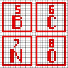 Periodic table of the elements cross stitch pattern pdf cross periodic table charts urtaz Gallery