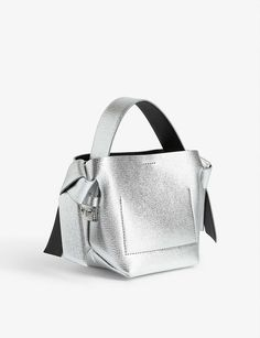 ACNE STUDIOS - Musubi micro leather bag | Selfridges.com Milan Fashion Weeks, New York Fashion, London Fashion, Stockholm Street Style, Paris Street, Leather Crossbody Bag, Leather Bag, Vanessa Jackman, Tommy Ton