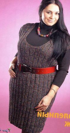 Рубрика вязание для полных женщин должна помочь тем женщинам, которые носят размеры одежды M/L/XL (52/54/56).Жакет для пышных дам.