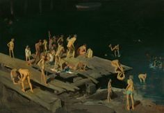 Forty-two Kids (George Bellows).