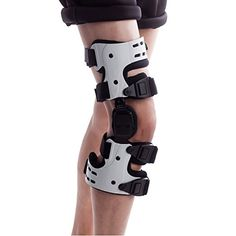 5b1ddf2a60 Orthomen OA Unloading Knee Brace for Osteoarthritis Lateral Support - Size:  Right