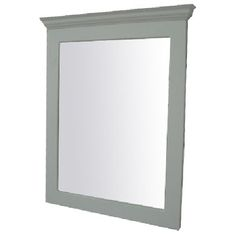 Bathroom Mirrors Rona shop unbranded 24-in x 36-in triangular bevel rectangular framed