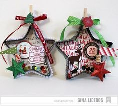 Over 30 Easy to make ornaments for kids Christmas parties at school or just for fun!  http://www.kidfriendlythingstodo.com