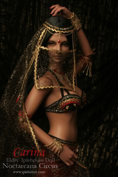 Carina Belly Dancer BJD from Iplehouse's Noctarcana Circus line  Carina is lovely in all of her incarnations.