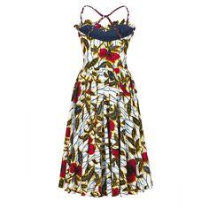 Gazelle Dress hibiscus - Last Season - Online Shop - Lena Hoschek Online Shop