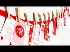 ▶ Darling DIY Valentine Countdown How-To {From The Dating Divas} - YouTube