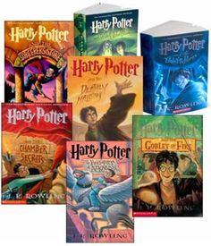 Harry Potter 1-7 Scholastic Collection