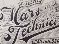 Staedtler Mars Technico by Ilham Herry