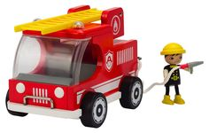 Hape Big Red Fire Truck