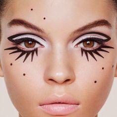 24 New Ideas diy makeup recipes eyeliner make up Makeup Inspo, Makeup Art, Makeup Inspiration, Eye Makeup, Hair Makeup, Makeup Ideas, Witch Makeup, Skull Makeup, Zebra Makeup