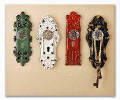 Fechaduras como decoração