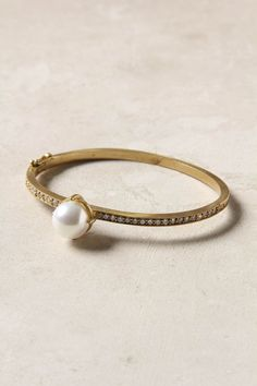 #engagementparty Anthropologie Savoy Pearl Bangle. $198. Simply State. @Anthropologie .