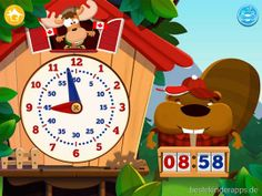 Tick Tack Zeit - Kinder App iPad iPhone