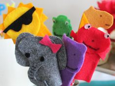 Five minute finger puppets