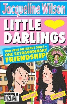 Jacqueline Wilson Books, Little Diva, Old Books, Little Darlings, Girls Out, Book Worms, Nostalgia, Have Fun, Cartoon