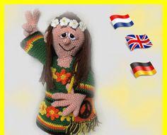 Lily, amigurumi Puppe PDF Anleitung made by LenasHobby via DaWanda.com