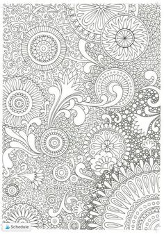 FREE Adult Coloring Pages – Coloring Mandalas adult Mandala Coloring Pages, Coloring Pages To Print, Coloring Book Pages, Coloring Sheets, Printable Adult Coloring Pages, Colouring Pics, Henna, Mandala Elephant, Colorista
