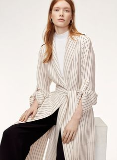An elevated robe to tie it all together