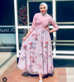 Summer maxi dresses in hijab style Just Trendy Girls Hijab Evening Dress, Hijab Dress Party, Hijab Style Dress, Muslim Fashion, Modest Fashion, Hijab Fashion, Fashion Dresses, Modest Dresses, Modest Outfits