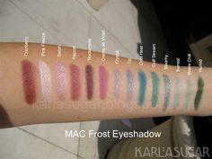 MAC Eyeshadow Recap, Swatches, Photos, Reviews