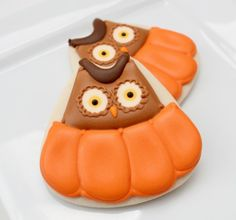 Candycorn Cookie Cutter Owls