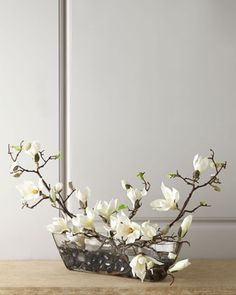 Faux Magnolias by John-Richard Collection at Neiman Marcus.