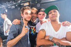 Zedd, Calvin Harris, Avicii, & Chuckie