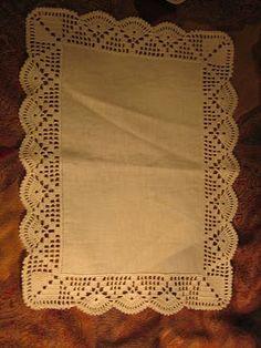 Filomena Crochet e Outros Lavores: Crochet - outro jogo de quarto