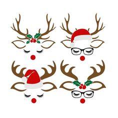 Christmas Rock, Diy Christmas Ornaments, Christmas Svg, Christmas Projects, Christmas Shirts, Holiday Crafts, Christmas Decorations, Christmas Tables, Nordic Christmas