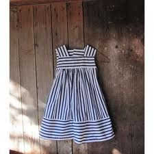 ad8401f4e8a2 nautical flower girl dress. What do you think about this one @Jessica  Lohmann Toddler