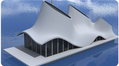 Flaship , inspiratie voor geWoonboot 2, NDSM trefoil