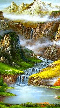 Waterfalls Lakes Plitvice, Croatia (National Park) Is among the 20 most… Beautiful Nature Pictures, Beautiful Nature Wallpaper, Beautiful Gif, Amazing Nature, Beautiful Landscapes, Beautiful World, Beautiful Places, Croatia National Park, Gif Bonito