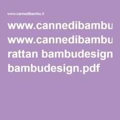 www.cannedibambu.it rattan bambudesign.pdf