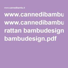www.cannedibambu.it rattan bambudesign.pdf