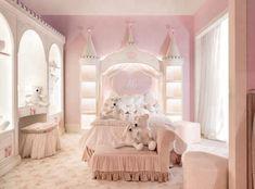 Baby Bedroom, Baby Room Decor, Home Decor Bedroom, Girls Bedroom, Luxury Kids Bedroom, Baby Rooms, Bedroom Colors, Luxury Bedding, Nursery Decor