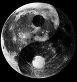 The yin yang moon.
