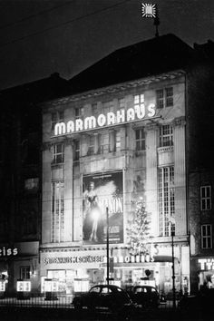 Kino Marmorpalast am Ku-Damm 60er Jahre