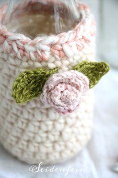 Recycling, Crochet Home Decor, Smoothie, Fur, Knitting, Blog, Crochet Flowers, Amigurumi, Manualidades